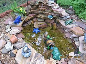 River Rock Water Feature