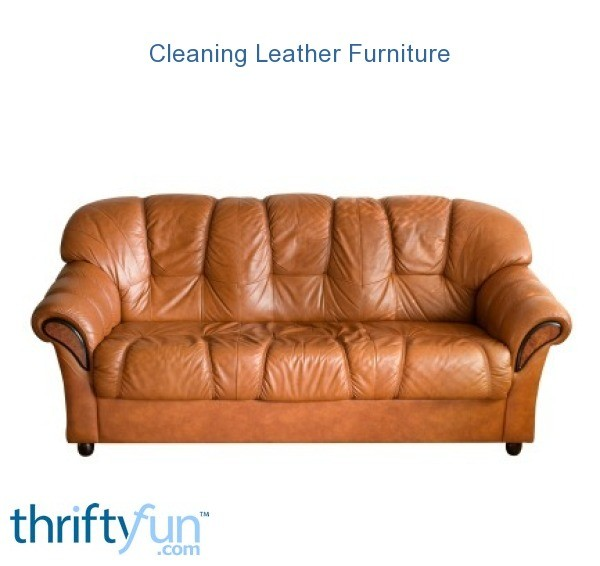 Marvelous Cleaning Leather Furniture Thriftyfun Inzonedesignstudio Interior Chair Design Inzonedesignstudiocom