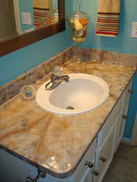 Painted Countertops 2