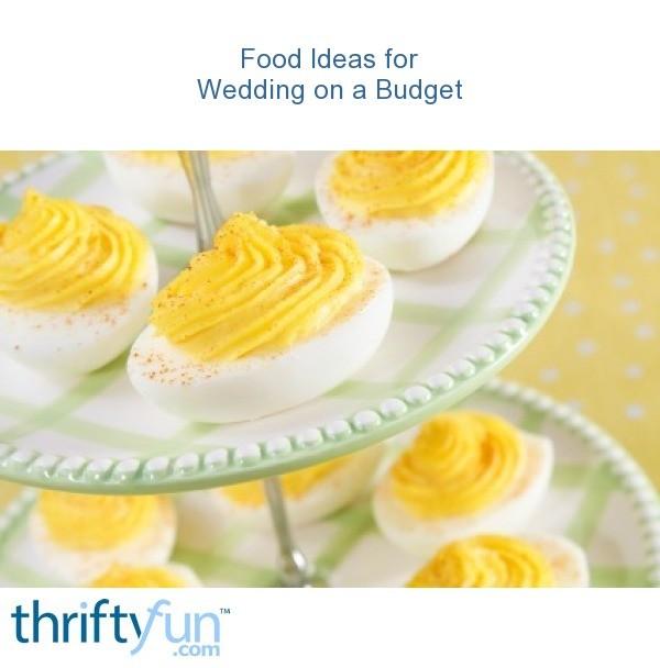 Food Ideas For Wedding On A Budget