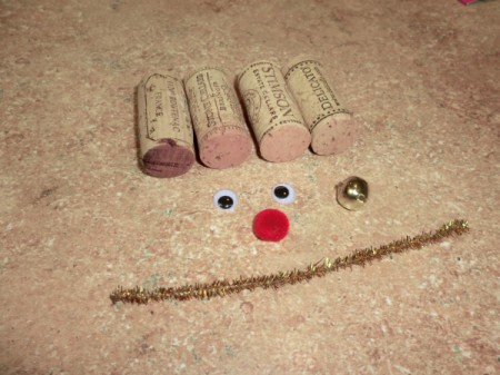 cork reindeer supplies