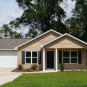 Photo of a house with vinyl siding.