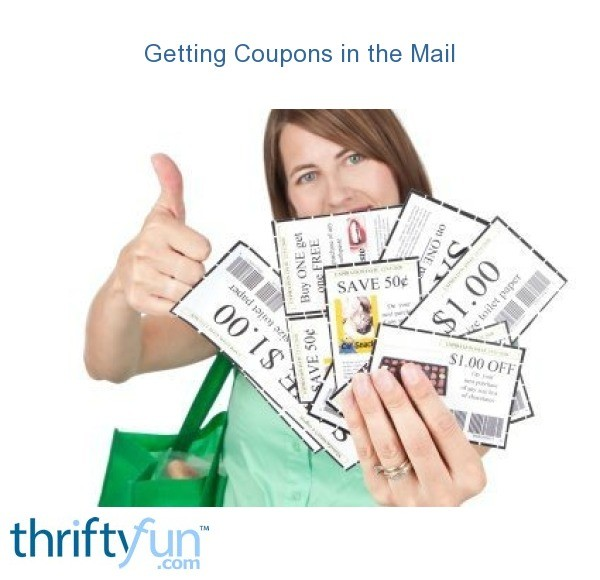 Get coupons by email