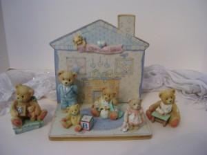 Cherished Teddies figurines.
