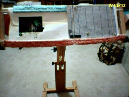 Needlework frame.