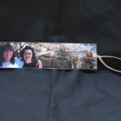 A bookmark made from a favorite photo.