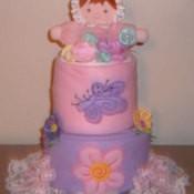 Baby Blanket Cake