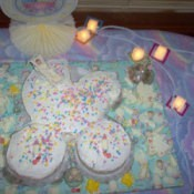 Baby Buggy Shower Cake
