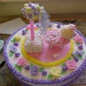Shower Cake For Baby Shower