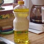 Catch Drips on Oil Bottles