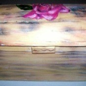 Antique-Look Jewelry Box