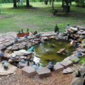 Decorative Rock Pond