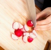Cutting Radishes