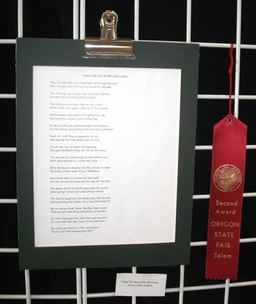 Red Ribbon At The State Fair