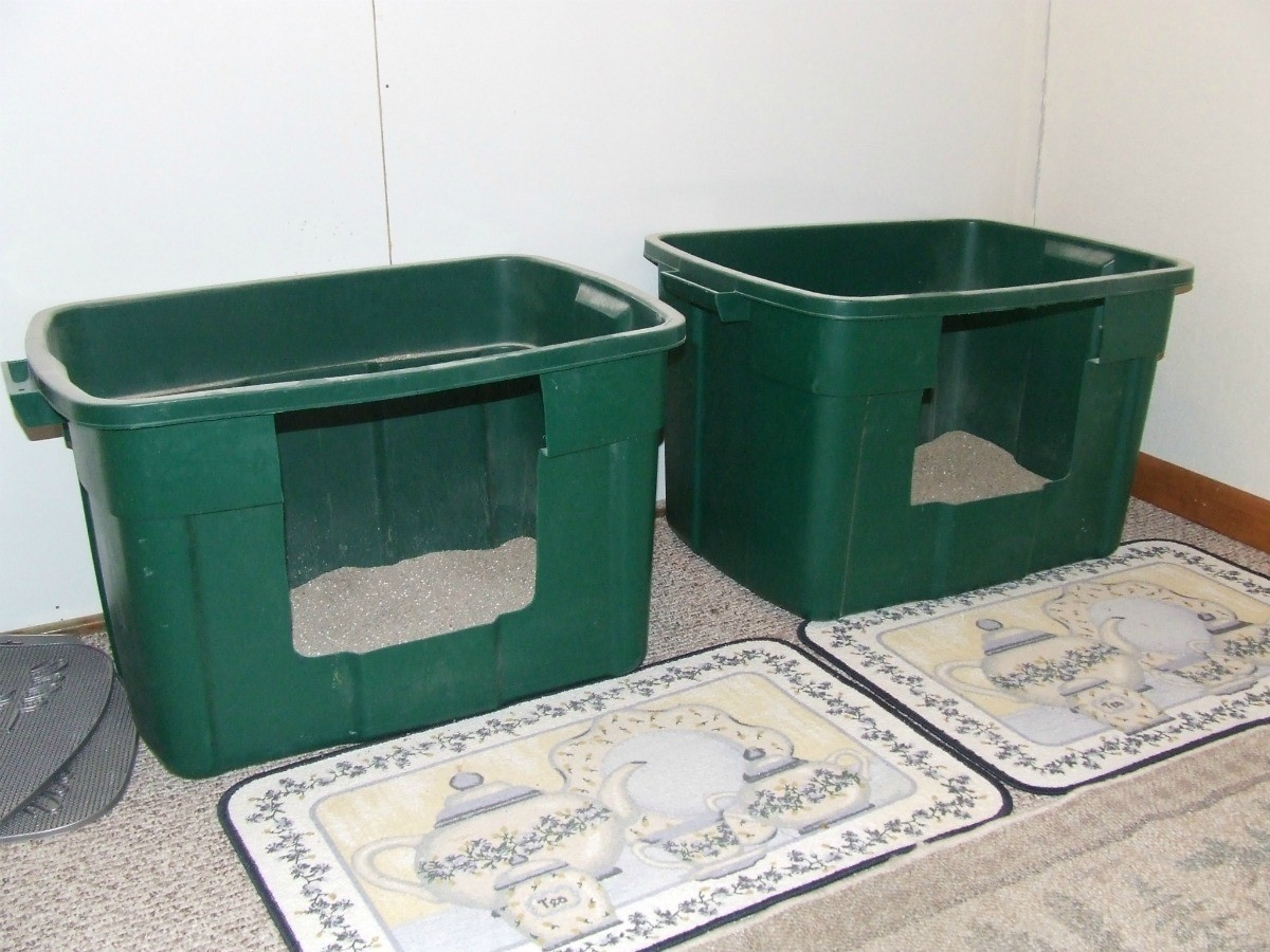 Homemade Cat Litter Box Ideas Thriftyfun