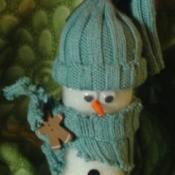 Paint Roller Snowmen