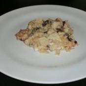 serving of casserole