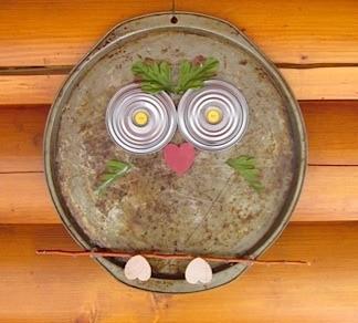 Pizza Pan Owl 1