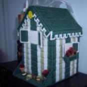 Plastic Canvas Birdhouse