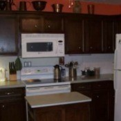 Refinished Kitchen Cabinets