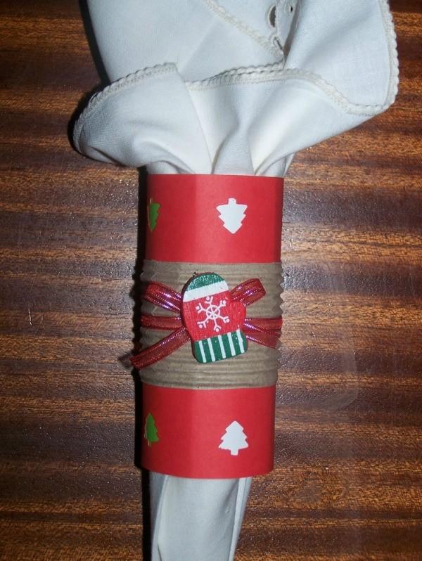 Homemade Christmas Napkin Ring Ideas Thriftyfun