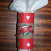 Christmas Napkin Ring Ideas