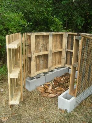 Making a Compost Bin