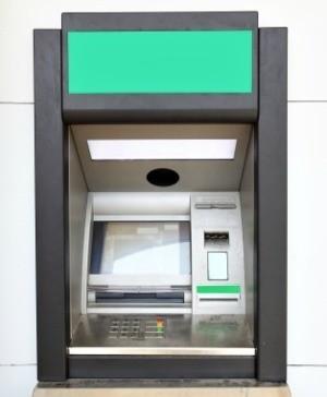 Banki ATM machine.