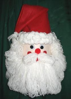 a bleach bottle santa craft - Santa Claus Craft