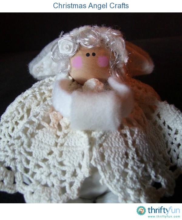Homemade Christmas Angel Crafts Thriftyfun