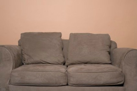 Couch with urine odors.