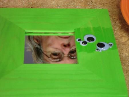 gluing eyes 2