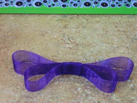 make ribbon bow