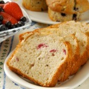 Sliced Cranberry Bread