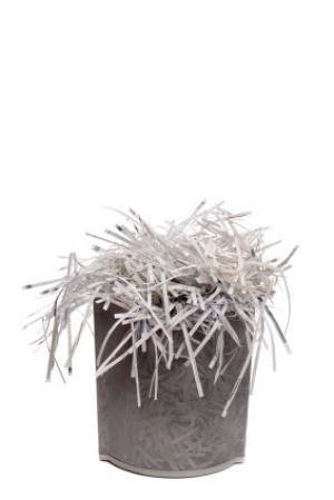 Waste Bin Full of Shredded Paper