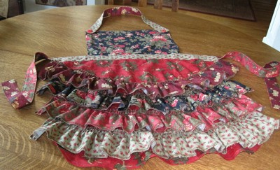 A kitschy half apron.