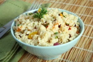 Couscous in Bowl
