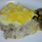 casserole on plate