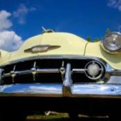 Polished Chrome on Classic Car