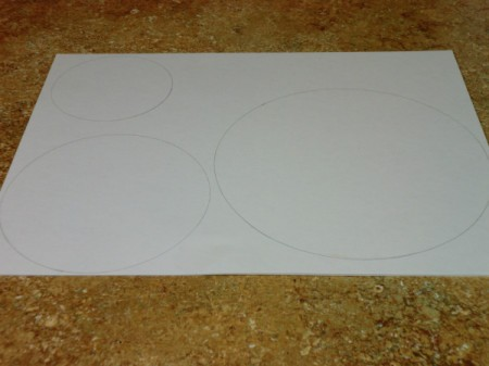traced circles