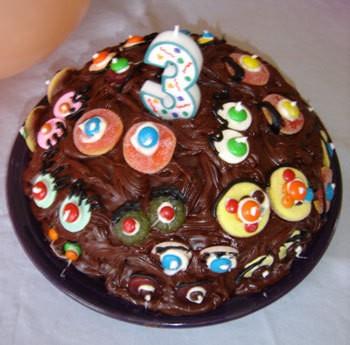 Making A Googly Eye Cake ThriftyFun