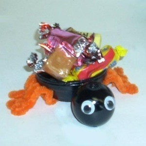Clay Spider Candy Dish
