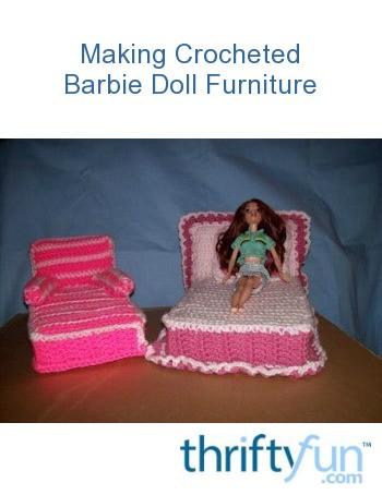 Crochet Doll's Bed Pattern, 11.5 inch Doll | ChicVintagePatterns | 454x350