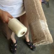 Storing Carpet Remnants