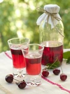 Home Made Cherry Liqueur