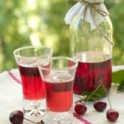 Home Made Cherry Liqueur