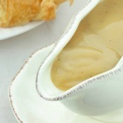 Turkey Gravy in Gravy Boat