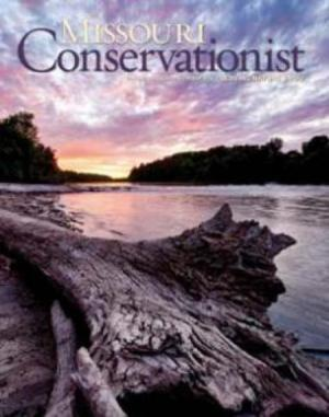 Cover of Missouri Conservationist magazine.