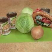 Garbanzo Bean Cabbage Stew