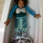 Making a Mermaid Costume